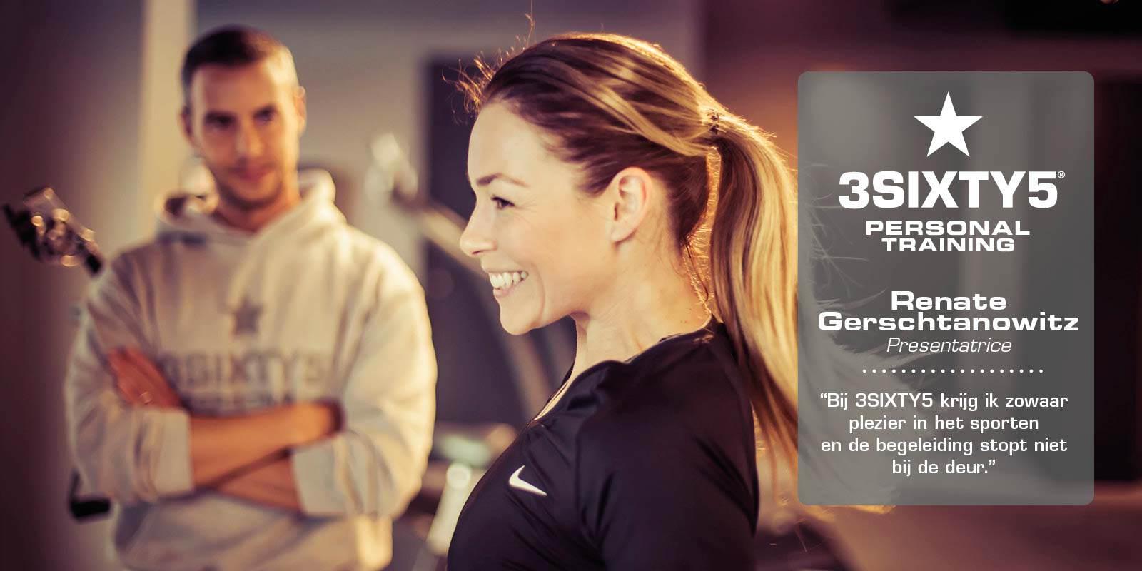 Renate Gerschtanowitz 3sixty5 personal training